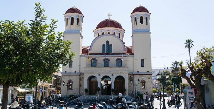 Церковь Четырёх Мучеников в городе Ретимно (Греция)