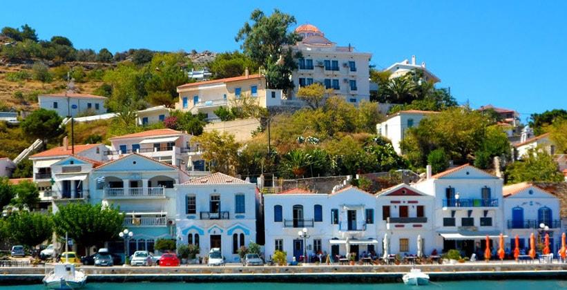 Поселение Эвдилос на острове Икария (Греция)