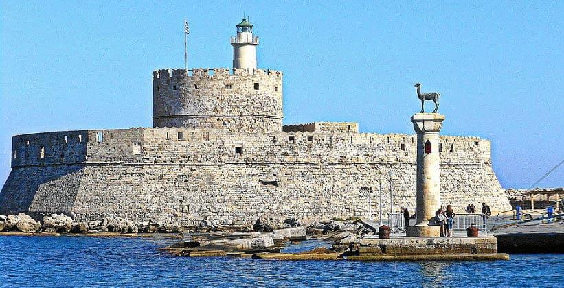 Форт Святого Николая в городе Родос (Греция)