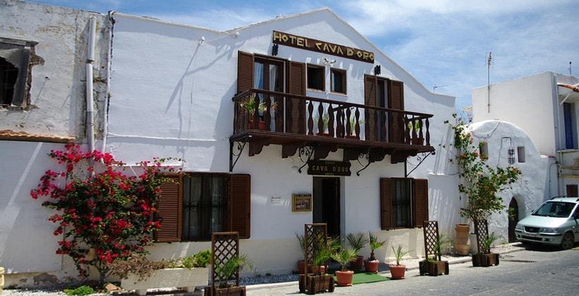 Небольшой отель в Старом городе Родос (Греция)