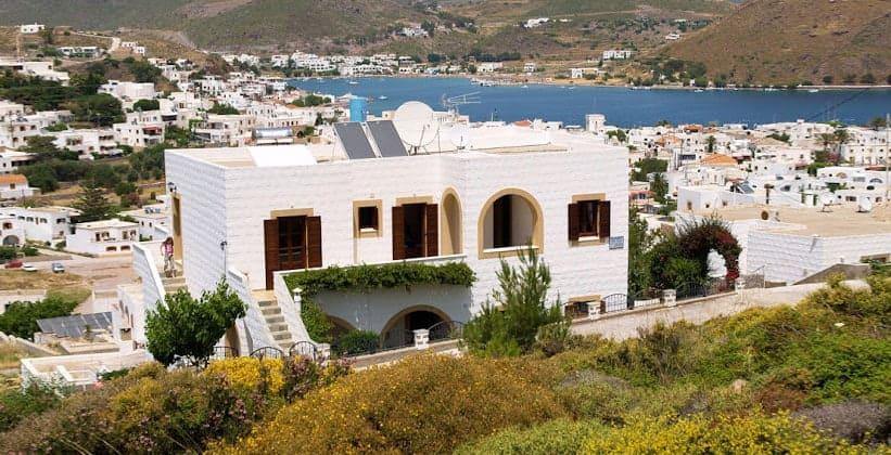 Небольшой отель в городе Скала (Греция)