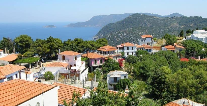 Остров Алонисос на Северных Спорадах (Греция)