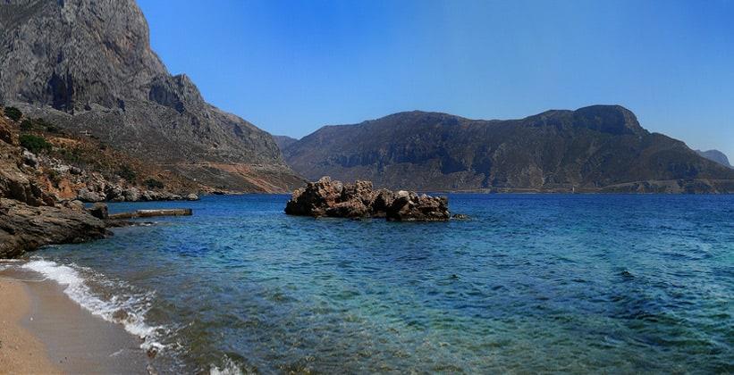 Остров Калимнос в Греции