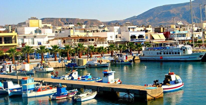 Остров Нисирос в Греции