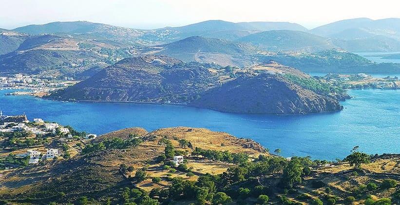 Остров Патмос в Греции