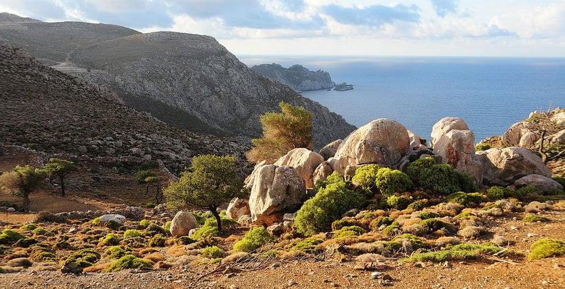 Остров Тилос в Греции