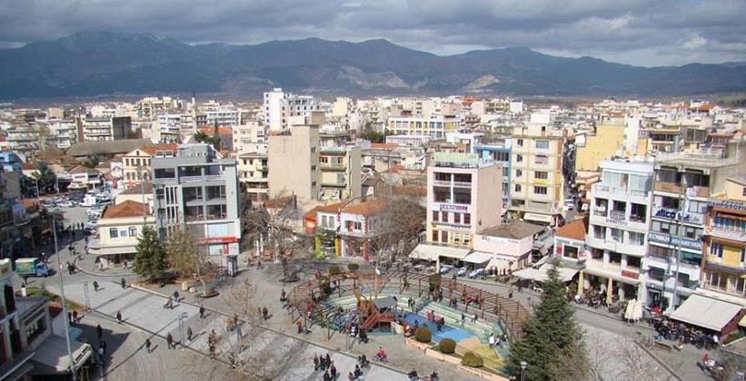Город Комотини в Греции