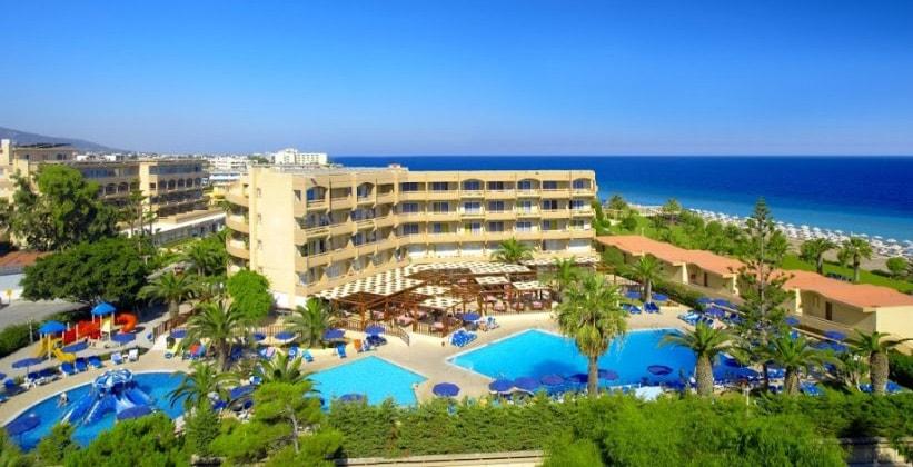 Курорт Ялиссос на острове Родос (Греция)