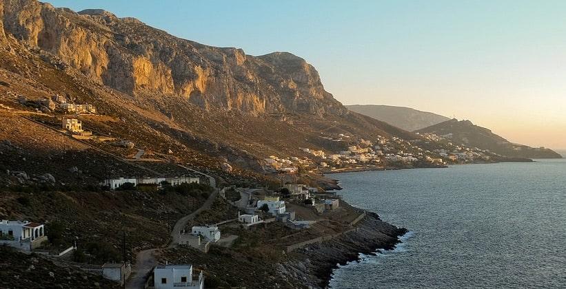 Курорты Миртьес и Массури на острове Калимнос