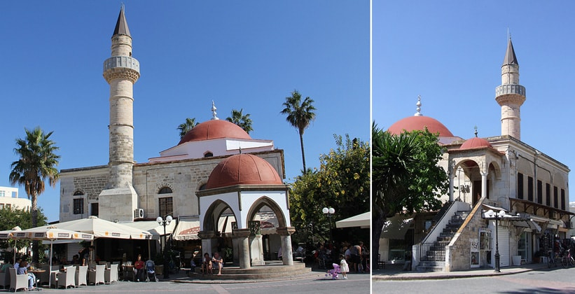 Мечеть в городе Кос (Греция)