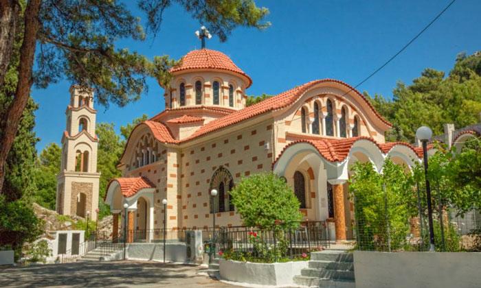 Монастыря Святого Нектария на острове Родос