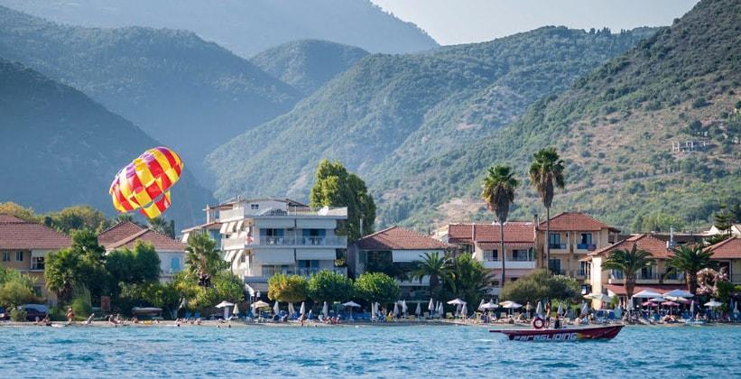 Курорт Нидри на острове Лефкада (Ионические острова – Греция)