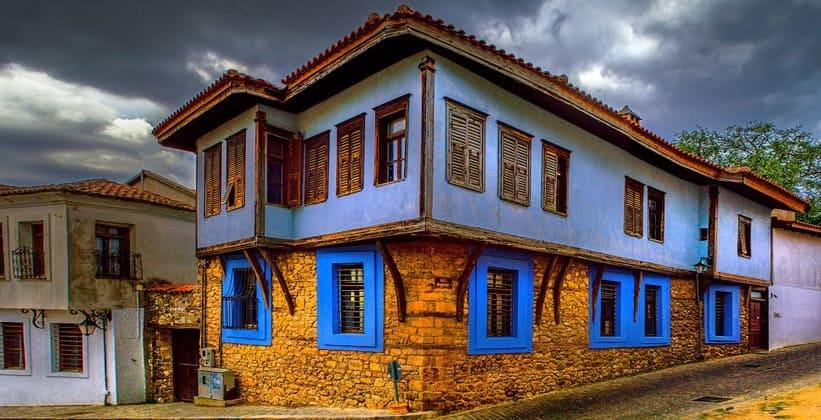 Старая часть города Ксанти (Греция)