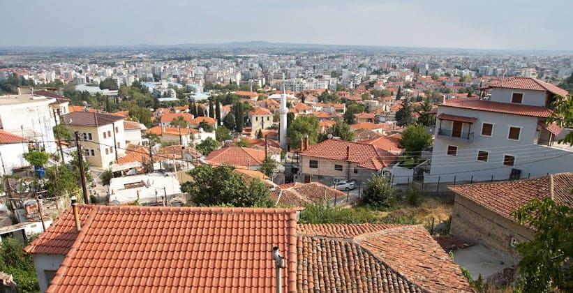 Город Ксанти в Греции