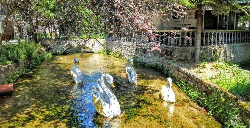 Парк в городе Эдесса (Греция)