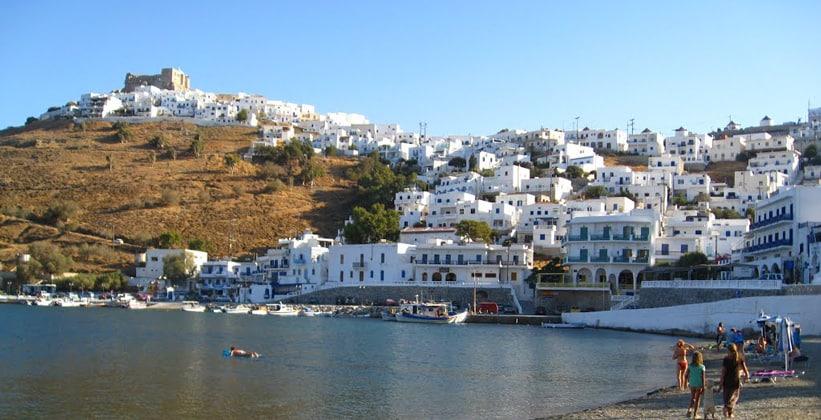 Пера-Ялос на острове Астипалея (Греция)