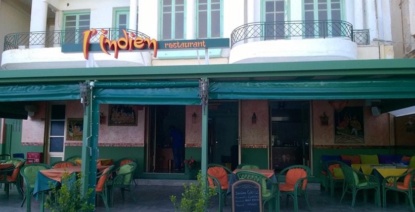 Ресторан Lindien в Айос-Николаосе (Греция)