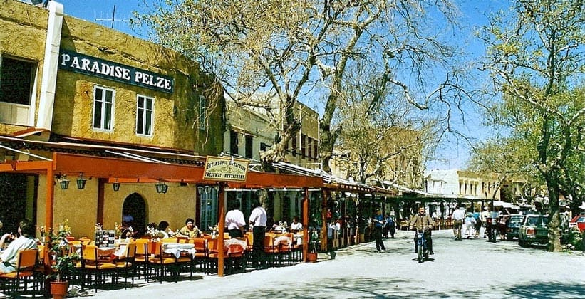 Ресторан Fresbway в городе Родос (Греция)