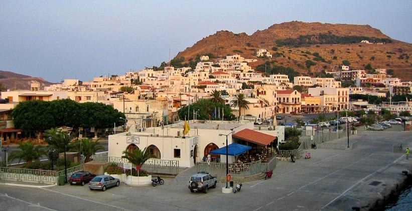 Город Скала в Греции