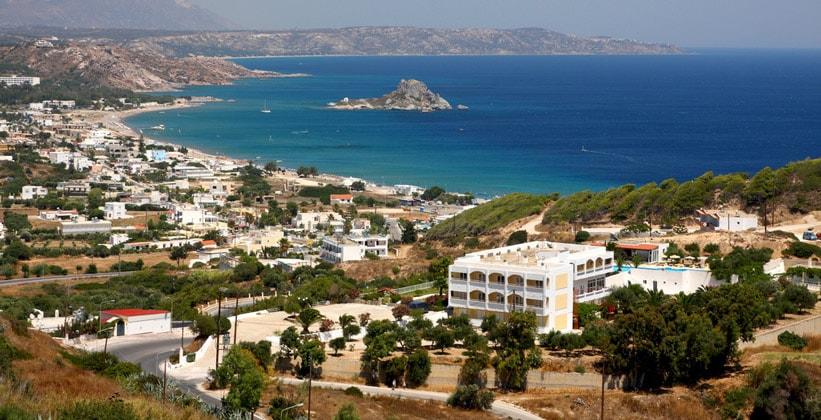 Город Кефалос на острове Кос (Греция)