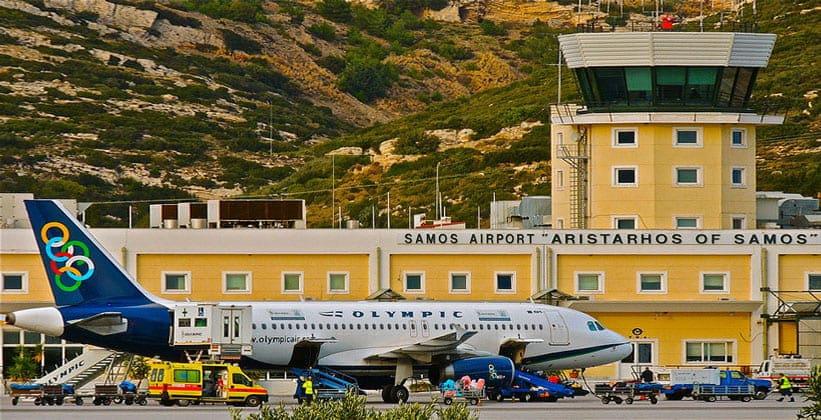 Аэропорт на острове Самос