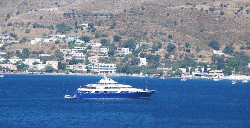 Курорт Алинда на острове Лерос (Греция)