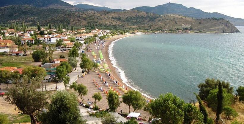 Курорт Анаксос на острове Лесбос (Греция)