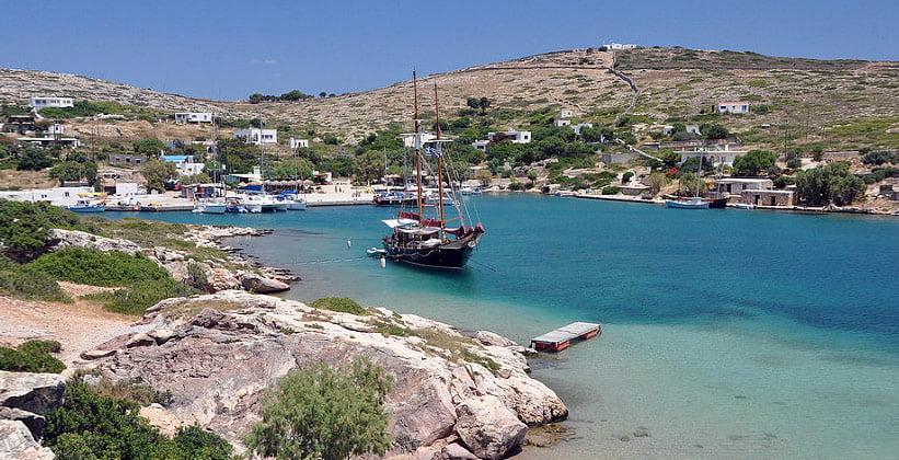 Порт Августа в Арки (остров Липси)