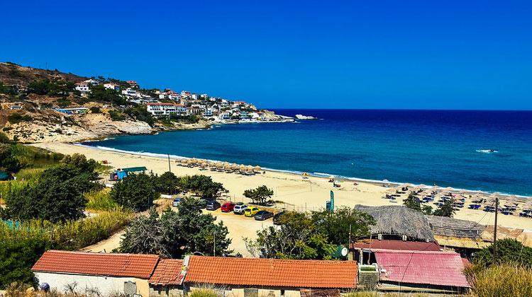 Курорт Арменистис на острове Икария
