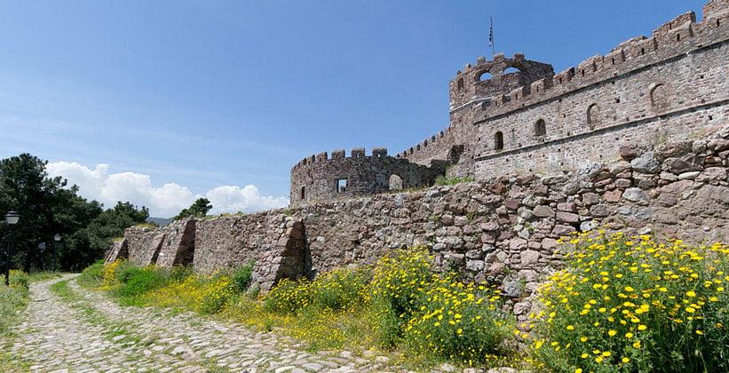 Замок Митилини (Греция)