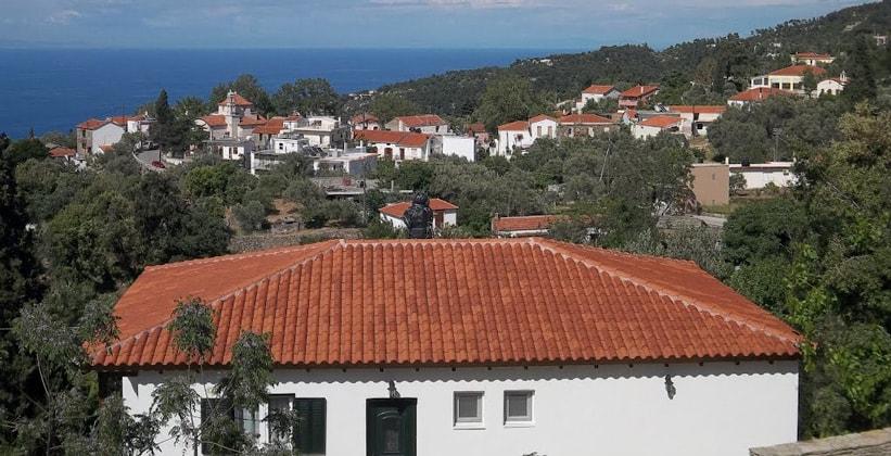 Деревня Христос на острове Икария (Греция)