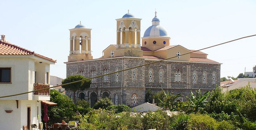 Главная церковь Коккари на острове Самос (Греция)