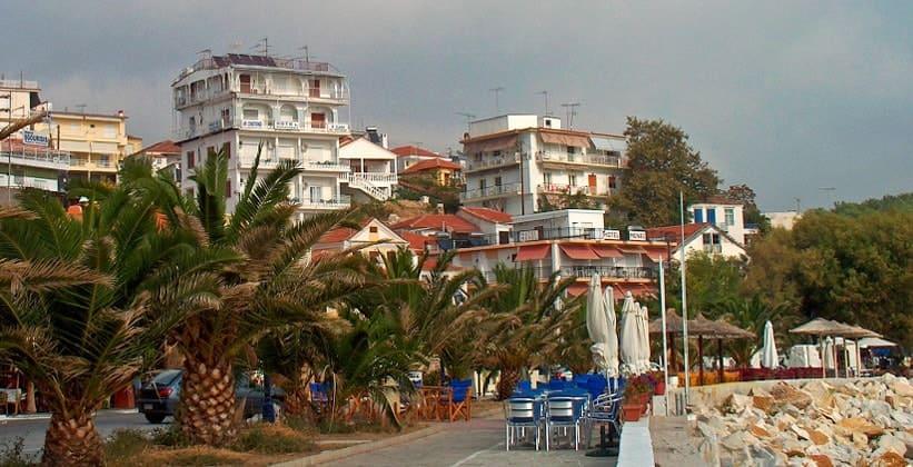 Город Лименария на острове Тасос (Греция)