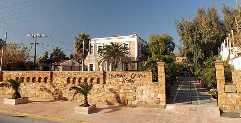 Отель Grecian Castle в городе Хиос (Греция)