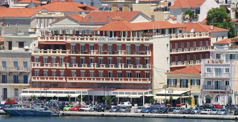 Одноимённый отель в городе Самос