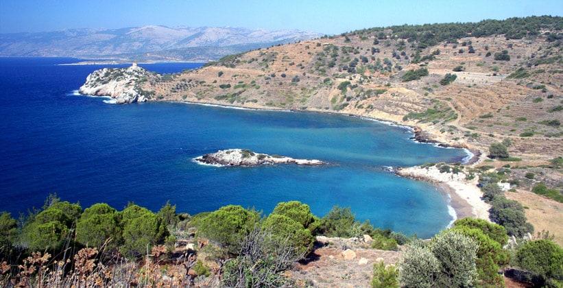 Остров Хиос в Греции