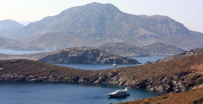 Остров Фурни в Греции