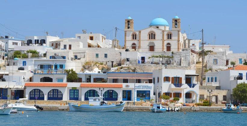 Остров Липси в Греции