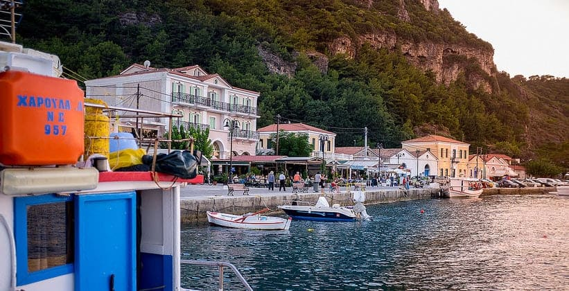 Остров Самос в Греции