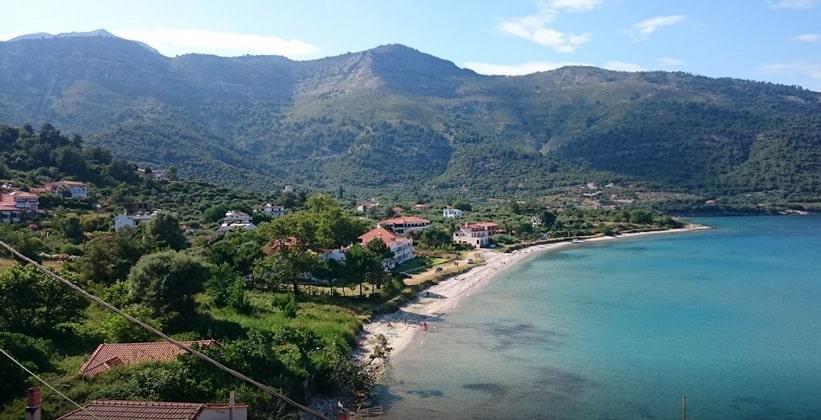 Остров Тасос в Греции