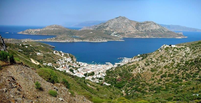 Остров Тимена в Греции