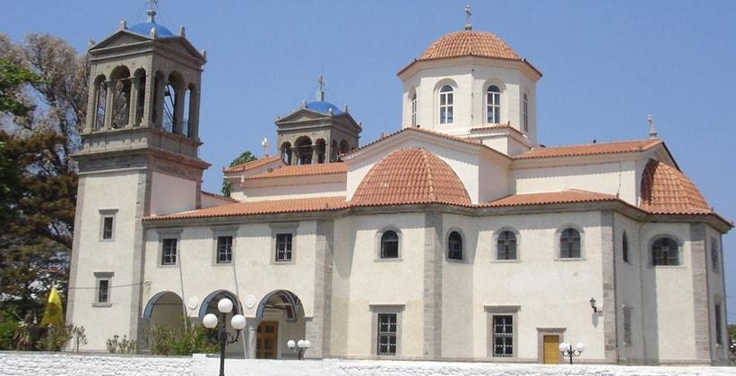Кафедральный собор Мирины на острове Лемнос