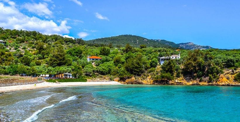 Курорт Алики на острове Тасос (Греция)