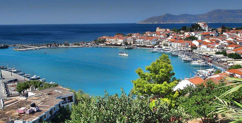 Курорт Питагорион на острове Самос (Греция)