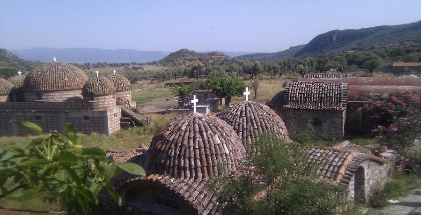 Монастыри на острове Лесбос (Греция)