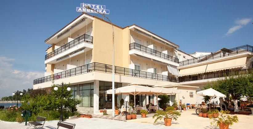 Отель Angelika в городе Лименас