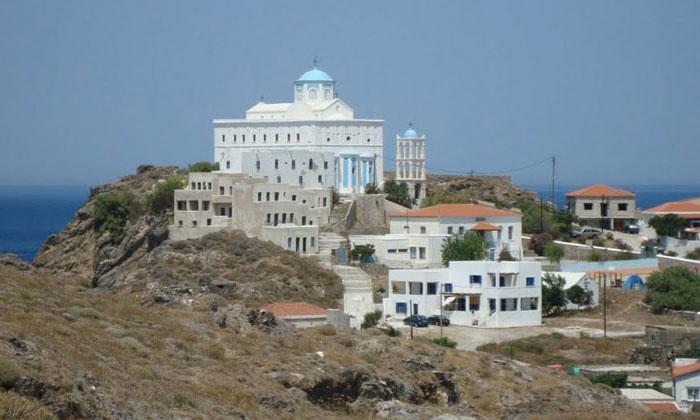 Кафедральный собор на острове Псара