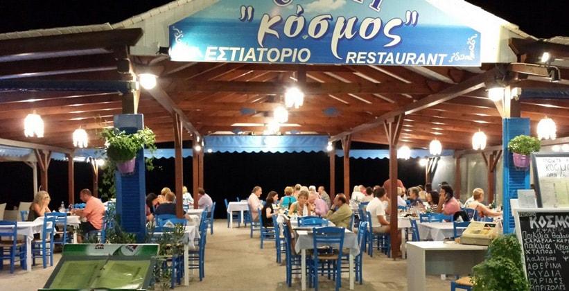 Ресторан Kosmos в городе Мирина (Греция)
