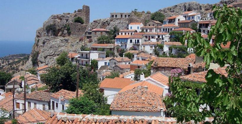 Столица острова Самотраки – Хора (Греция)