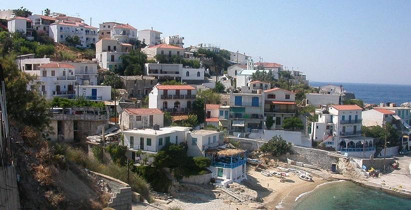 Город Арменистис в Греции